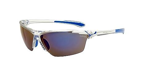 Cébé Cinetik L Occhiale da Sole, Blu (Matte Translucid Blue)