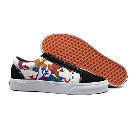NICESSHOE The-Funny-Beastie-Boys-Rainbow-Color- Zapatillas de Skateboard