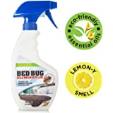 Eco-Friendly Bed Bug Eliminator – Non-Toxic Spray Killer & Barrier - Essential Oil Formula Great for Mattress, Clothes, Travel – Skin Safe for Children & Pets - Eagle Watch Bed Bug Spray (16oz)