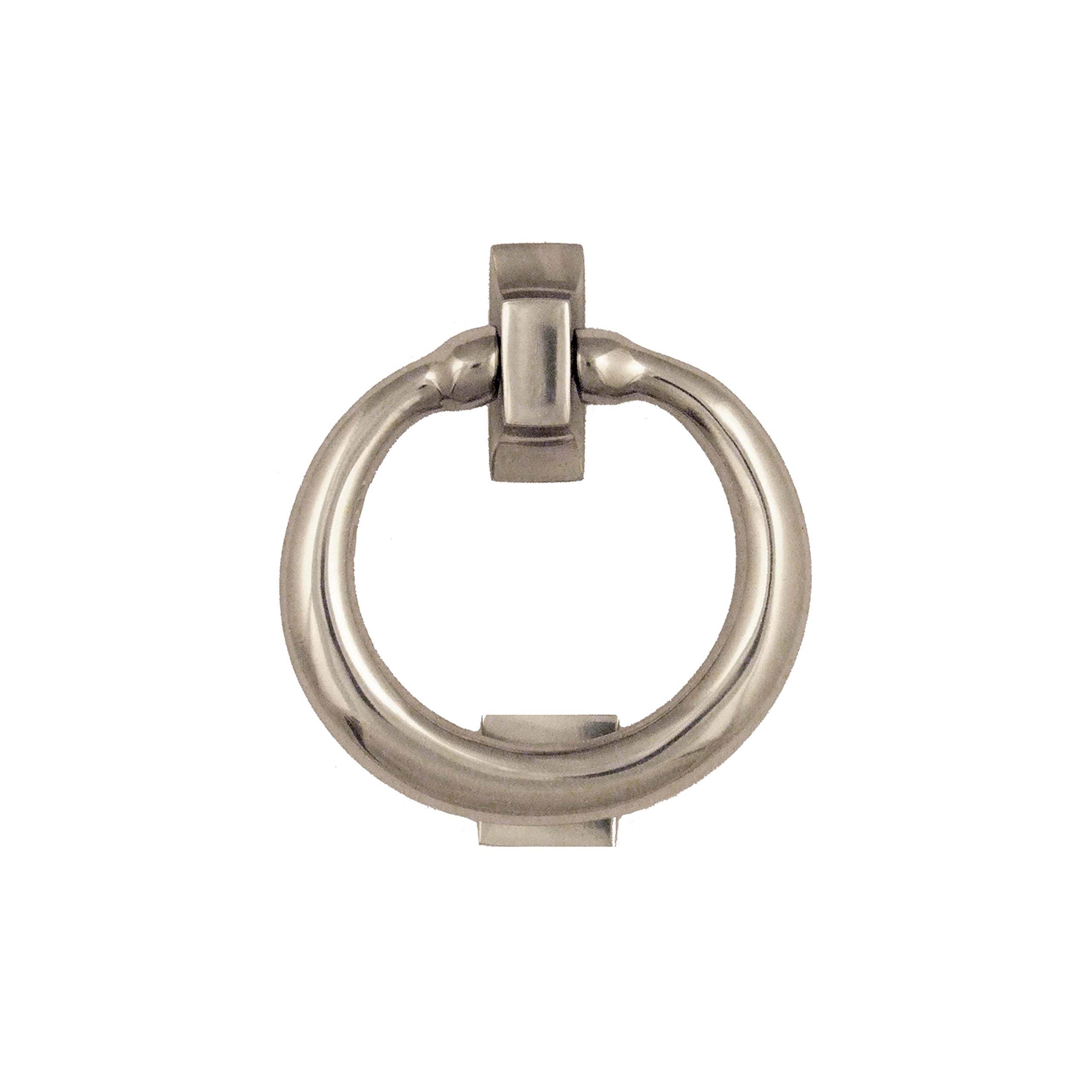 Ring Door Knocker - Nickel (Premium Size)
