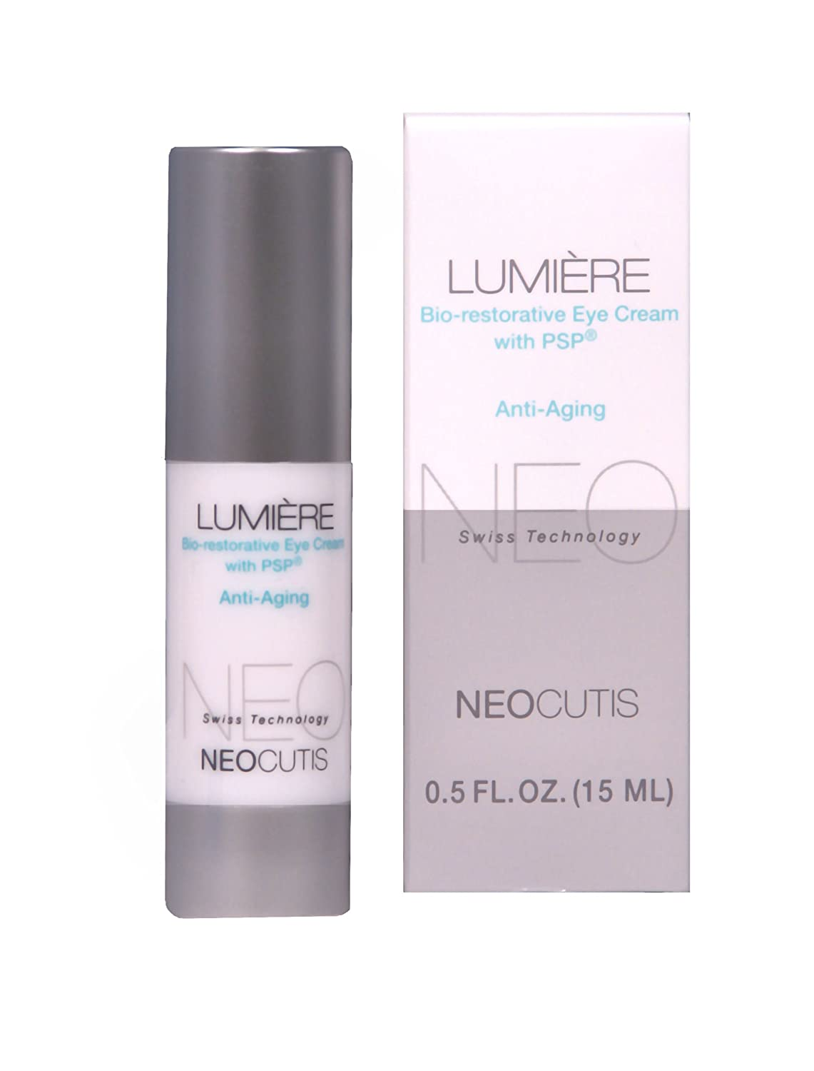 Lumiere eye cream before and after