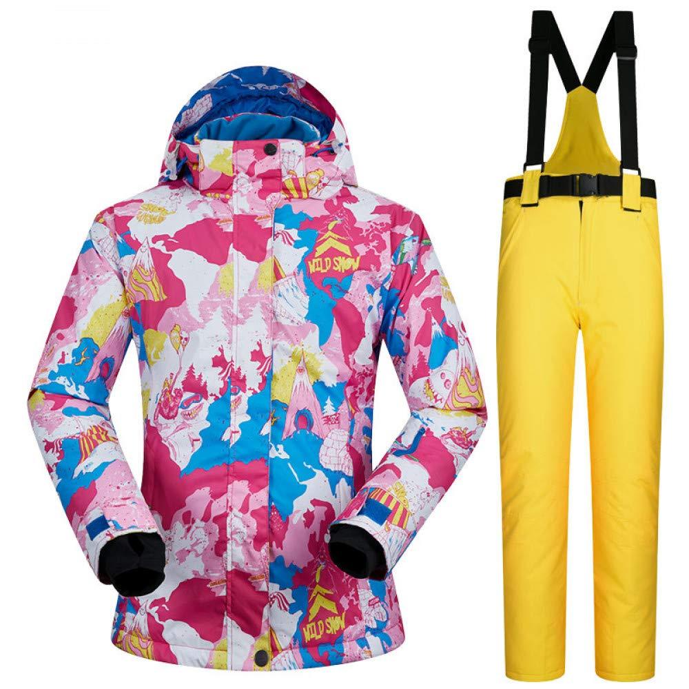 ZXGJHXF Tuta da Sci Invernale Donna New Sets Giacche da da da Neve e Antivento Impermeabili all'Aria Aperta Tute da Sci e da Snowboard per Donna,Un rosa,LB07KXRLJ8RXL B giallo | Discount  | Moda moderna ed elegante  | Stili diversi  | Colore Brillantezza  | 6fc65c