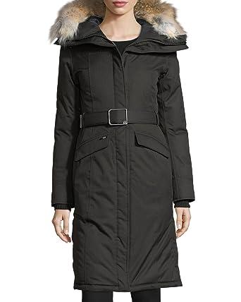 Nobis Morgan Fur-Trim Duck-Down Parka Women's Coat at Amazon ...