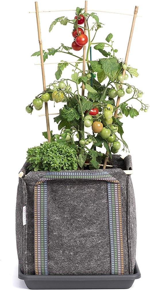 Saco Tomatero Mh (30x30x30cm) para huerto Urbano + Manual ...