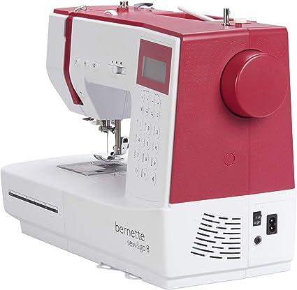 Bernette Sew&GO8 - Máquina de coser electrónica con 197 puntadas de costura (útiles, elásticas, decorativas), Automática, Display multifunción: Amazon.es: Hogar