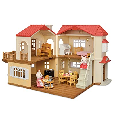 Calico Critters Red Roof Country Home Gift set: Toys & Games