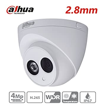 Dahua OEM Waterproof 4MP IP67 IR CCTV Network Mini Dome IP Camera POE 2.8mm