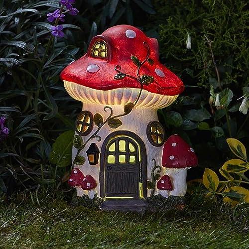 Mushroom Solar House 27 x 19cm 1020986