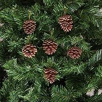 Kikajoy Yılbaşı Çam Ağacı Süsü Kozalak Kahverengi 6 cm 6'lı