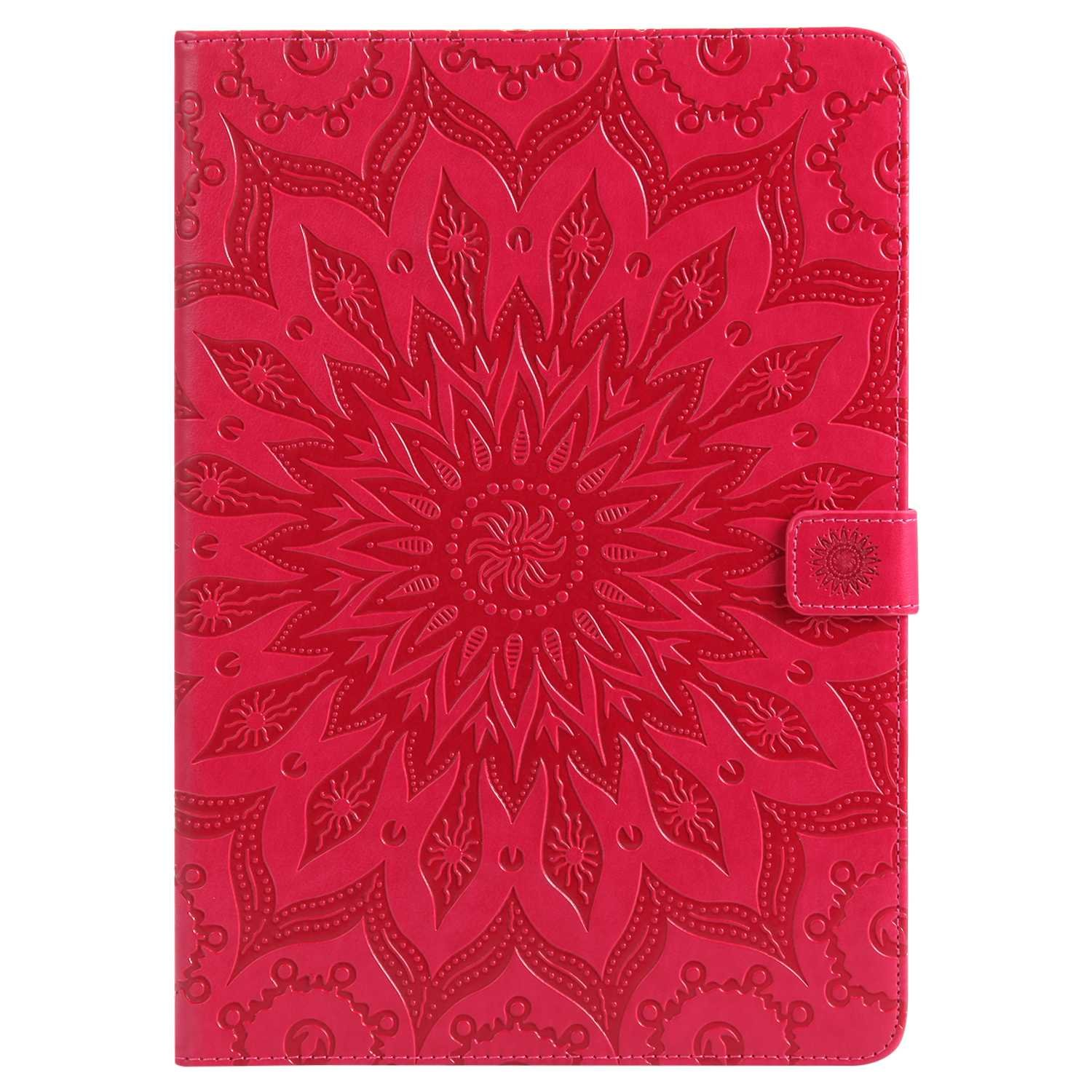 Bear Village iPad Pro 10.5 Inch Case, Anti Scratch Shell with Adjust Stand, Full Body Protective Cover for Apple iPad Pro 10.5 Inch, Red by Bear Village