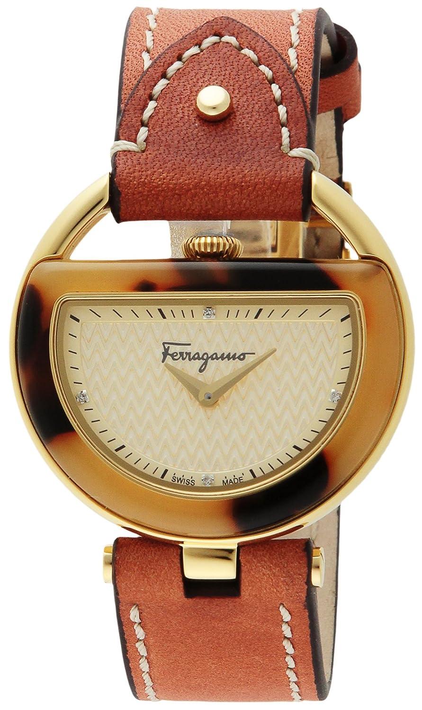 [サルヴァトーレフェラガモ]Salvatore Ferragamo 腕時計 BUCKLE ゴールド文字盤 FG5020014 レディース 【並行輸入品】 B0195E27NE