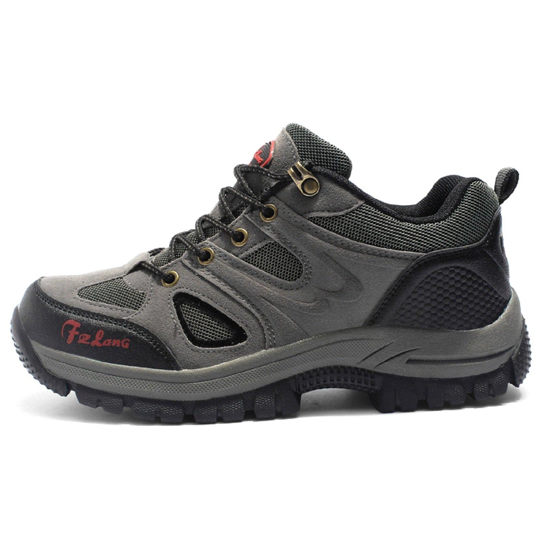 Botas de Senderismo Impermeables para Hombre, de Ocio al Aire Libre Zapatos de Deporte Zapatillas de Senderismo