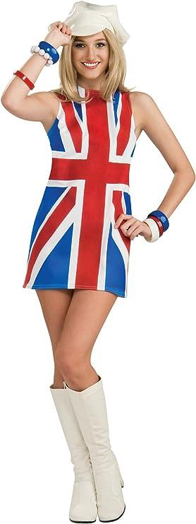 60s Costumes: Hippie, Go Go Dancer, Flower Child, Mod Style Sexy British Invasion Costume $48.73 AT vintagedancer.com