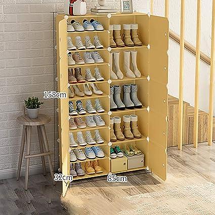 0a20e5dcc21ac Armarios para zapatos Zapatero simple Zapato de dos hileras para el hogar  Zapato de múltiples capas