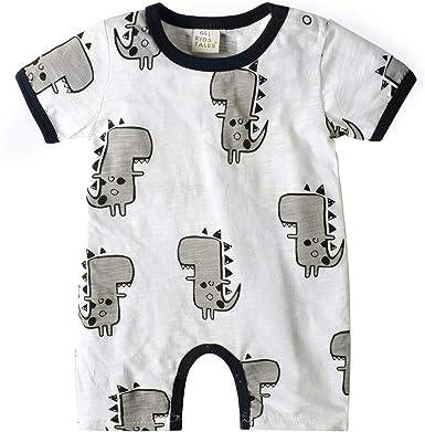 Nwada Ropa Bebe Niño Pijama Niña Disfraz Verano Mamelucos Cortos Pelele Camiseta Mono Recien Nacido Body Bautizo Fiesta: Amazon.es: Ropa y accesorios