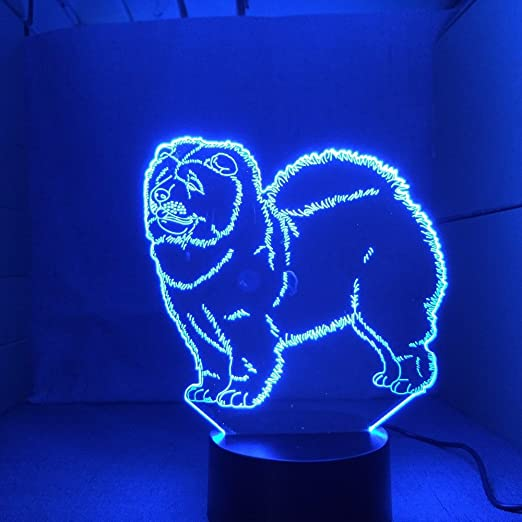 Colorful Energy Saving Jellyfish LED Night Light Sensor Control Lamp Bedside CD