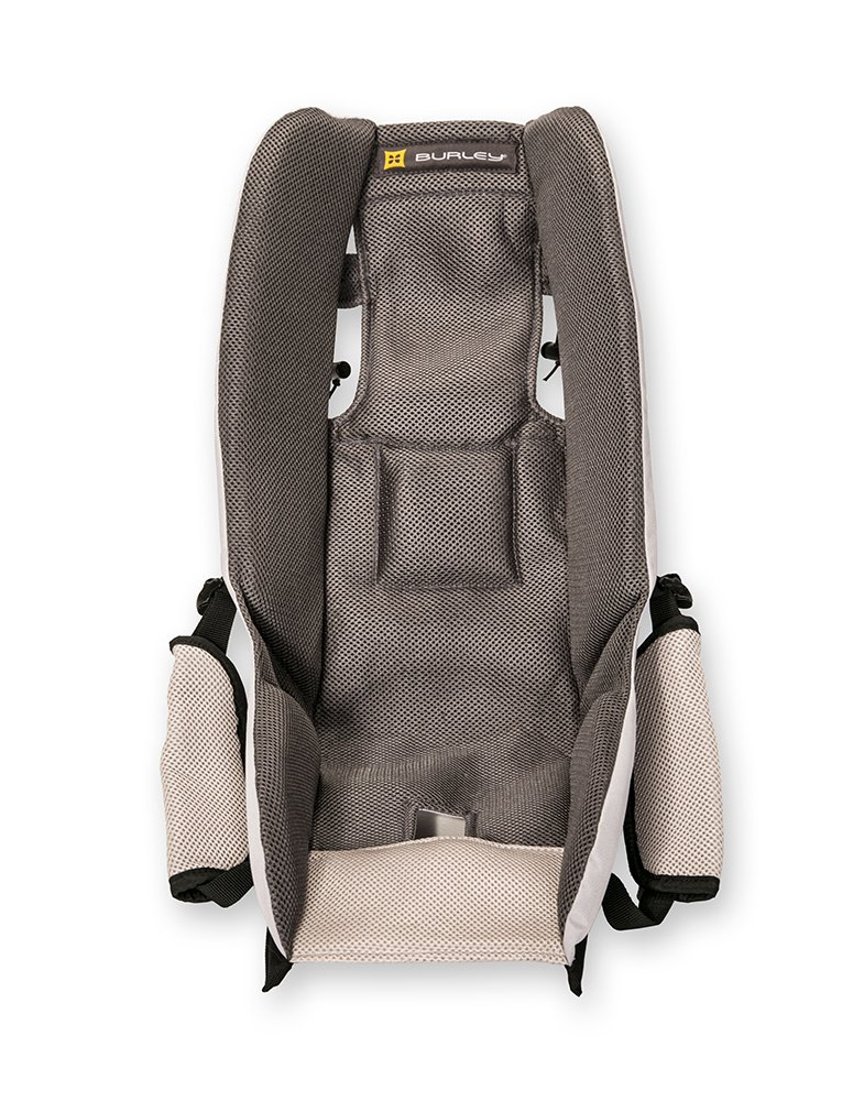 Burley Fahrrad-Kindersitz Baby Insert, Grau, 50.8 x 20.3 x 12.7 cm, 960058