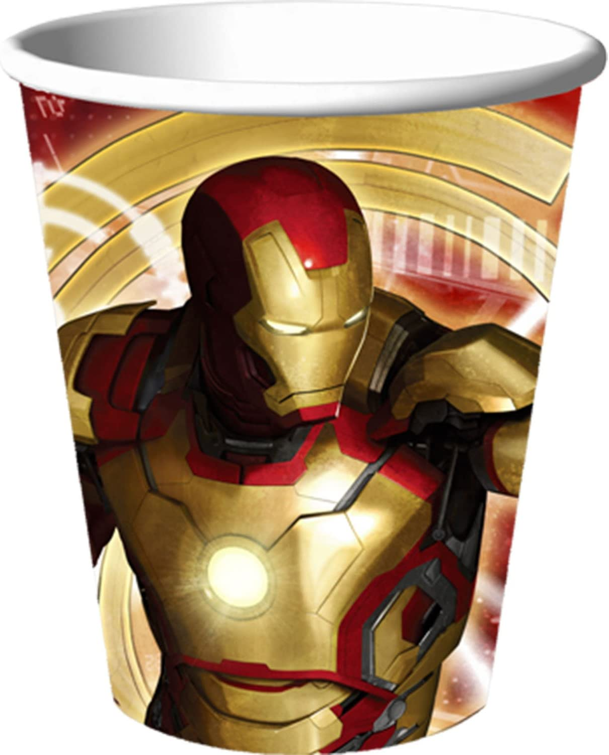 Iron Man Paper Cups