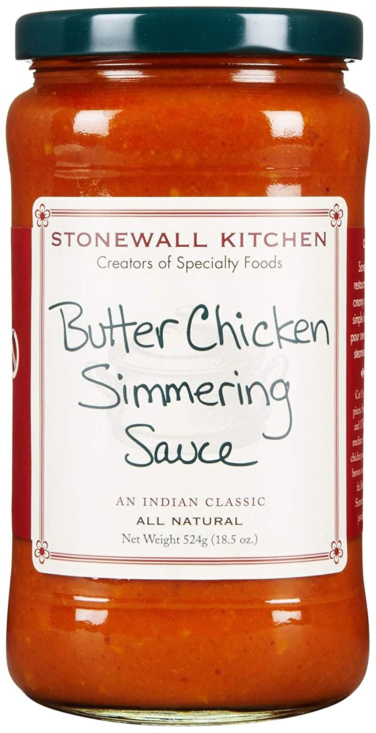 Amazon.com : Stonewall Kitchen Butter Chicken Simmering Sauce, 18.5 Oz :  Grocery U0026 Gourmet Food