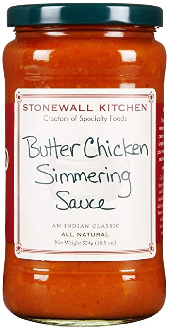 Stonewall Kitchen Butter Chicken Simmering Sauce  18 5 ozAmazon com   Stonewall Kitchen Butter Chicken Simmering Sauce  . Amazon Kitchens Of India Butter Chicken. Home Design Ideas