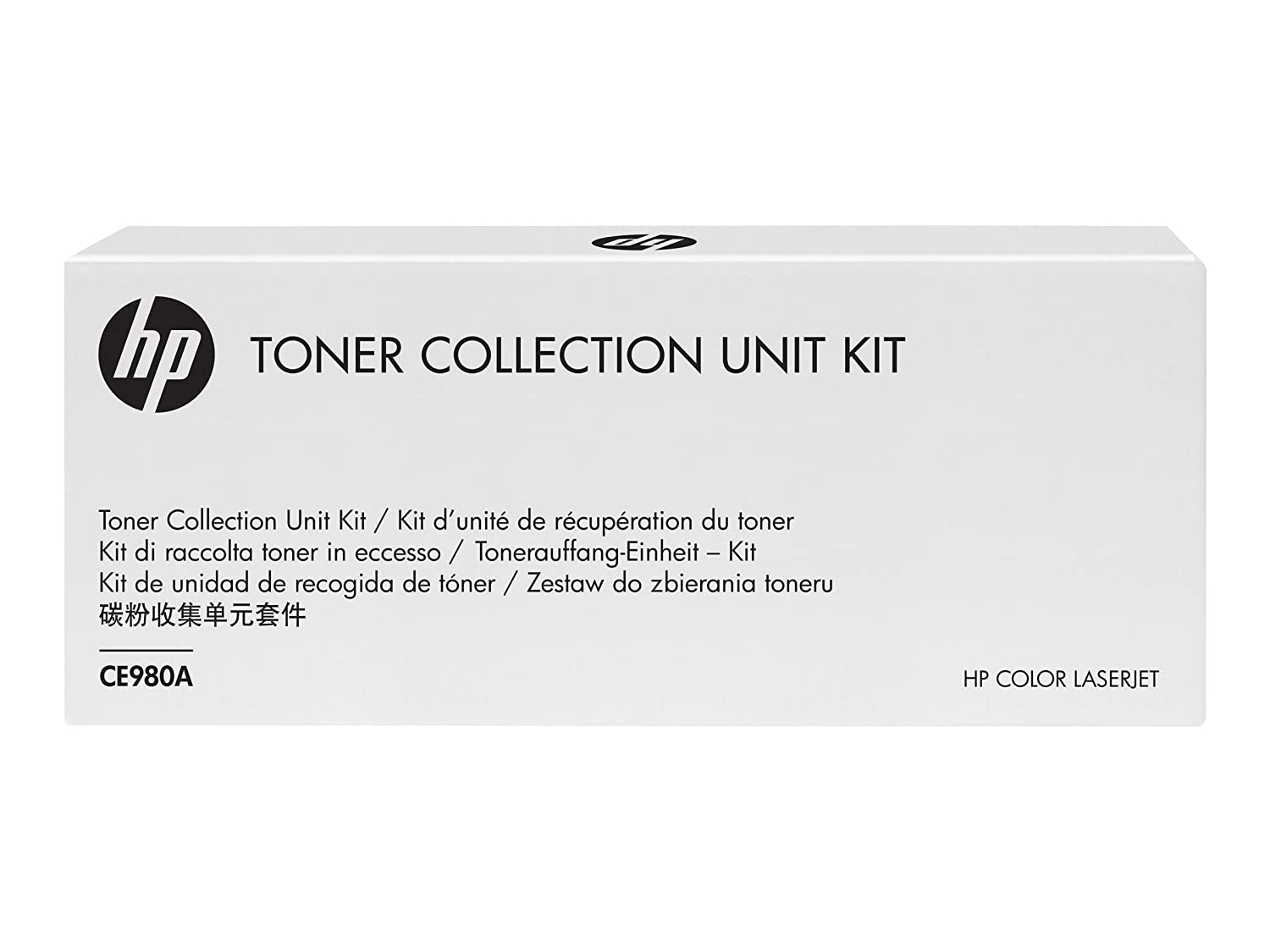 HP – inc. Toner Collection Unit Kit, ce980 – 67901, CE980 A (Includes Waste Toner Box Assembly, and Toner Cleaning Cloth) ce980 - 67901