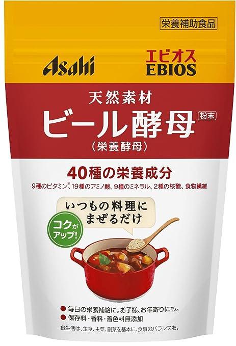 アサヒグループ食品 エビオス ビール酵母粉末