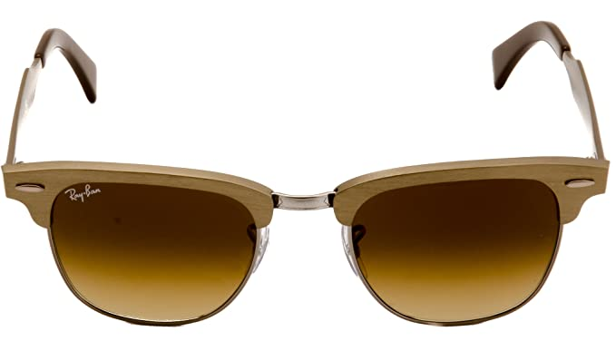1e3ab91a083e4 ... coupon code ray ban clubmaster aluminum rb 3507 139 85 49mm brushed bronze  light brown a74d7
