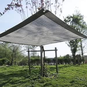Red de Sombra Malla De Sombra For Bloqueador Solar For Cubierta De Dosel For Pérgola, Malla De Sombra con Filtro Solar Resistente A Los Rayos UV con Arandelas, 90% De Tasa De