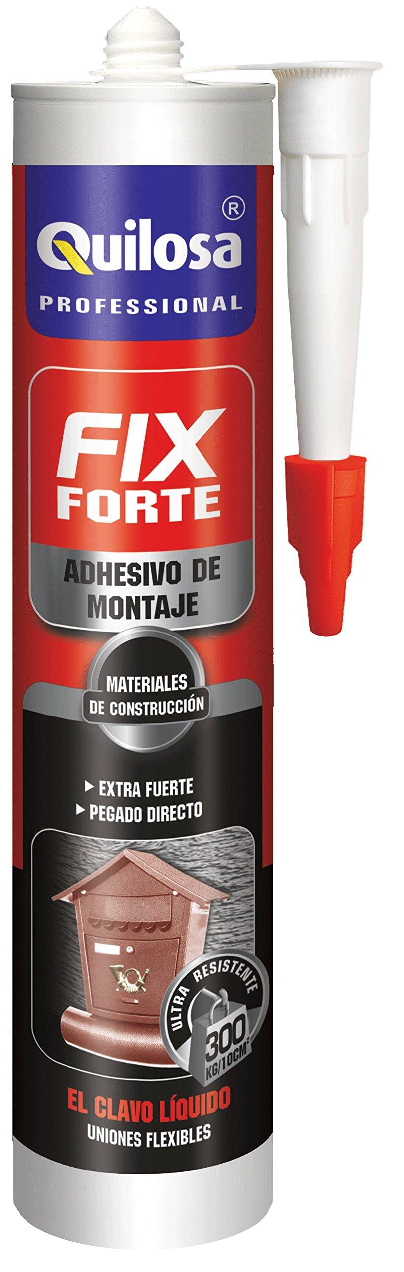 Quilosa T045120 Adhesivo de Montaje Forte, Crema product image