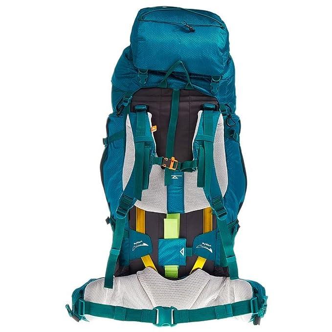 Acceso Decathlon Quechua SYMBIUM 70 + 10L Mochila de senderismo para mujer, color azul: Amazon.es: Ropa y accesorios