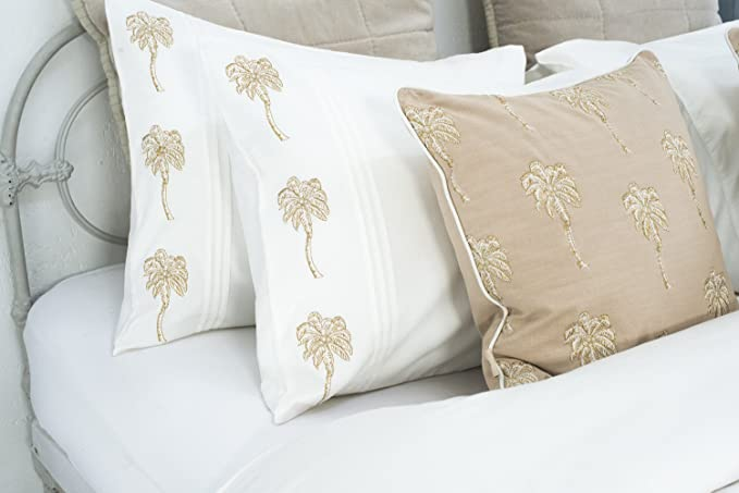 Palmier Pillowcase Pair – Elizabeth
