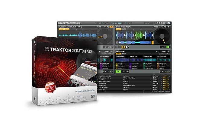 traktor scratch pro 2 software & timecode kit amazon