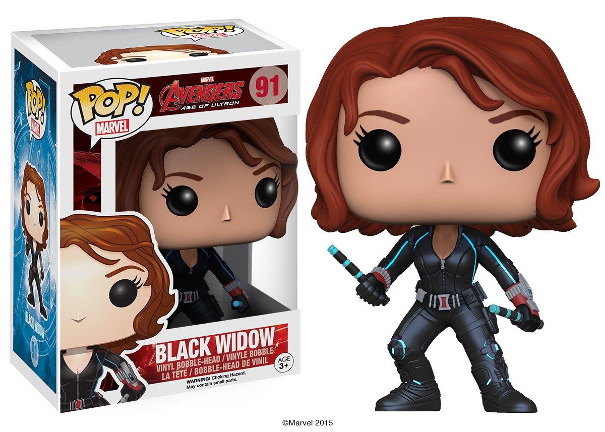 Black Widow Funko POP Marvel Avengers 2