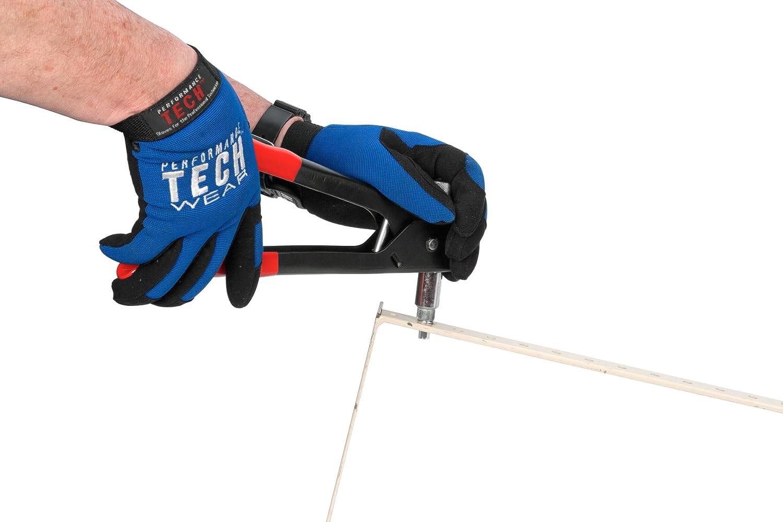 1//4-20 Riveting Tools with 45pc Rivet Gun 10-24 Performance Tool W2006 SAE Rivet Nut Kit Set Metric Rivet Nuts Included -//32 8-32 Riveter Tool Rivet Nut Gun Thread Hand Riveter