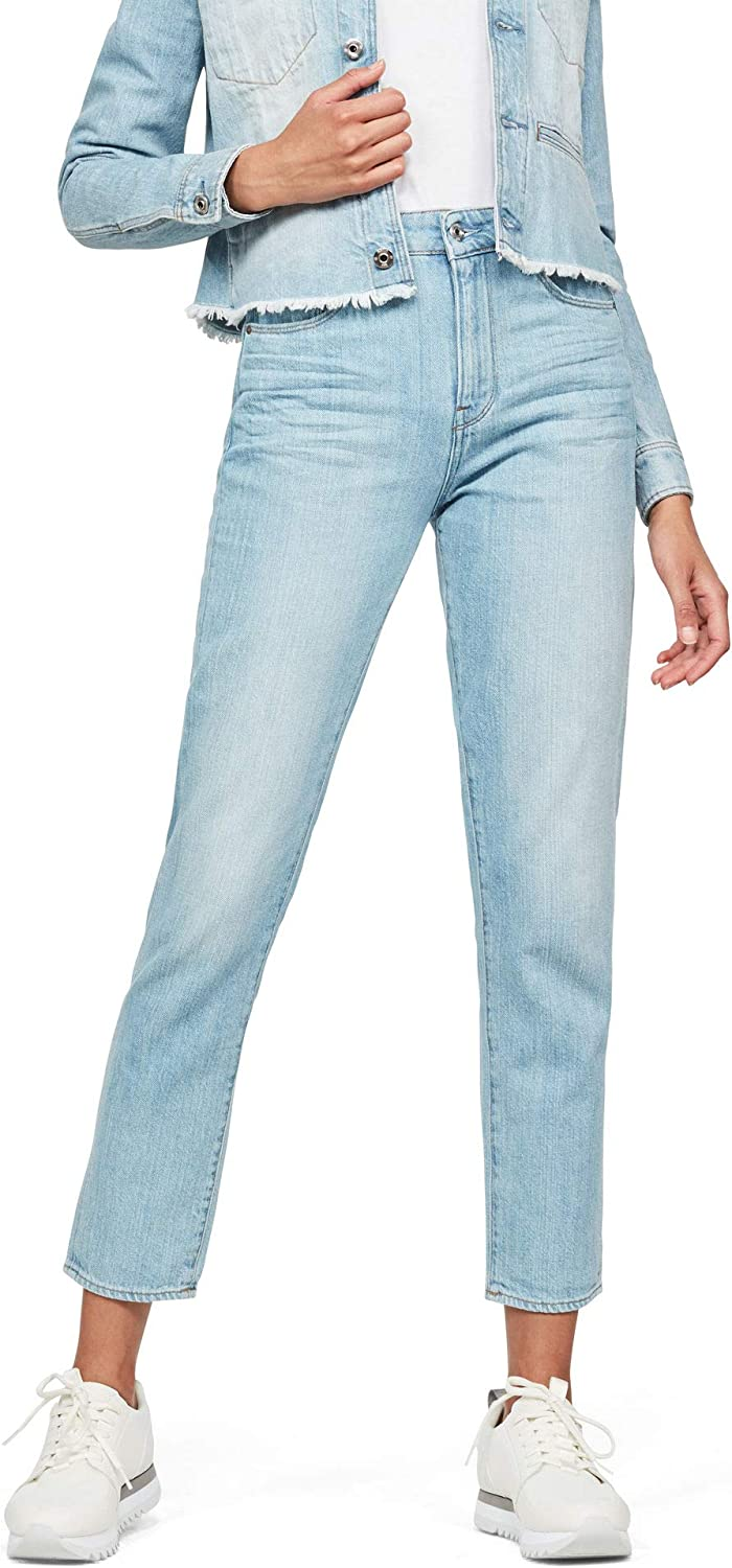 G-STAR RAW 3301 High Waist Straight 90's Ankle Vaqueros Mujer