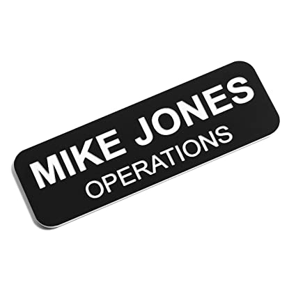 Amazon.com   Custom Engraved Name Tag Badges - Personalized ... 6da05132f4e2