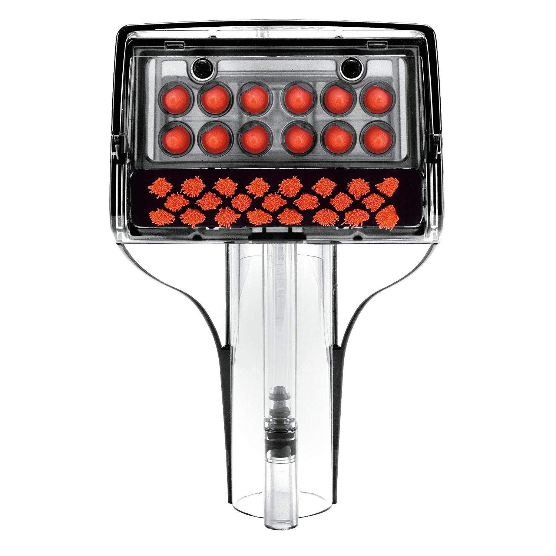in Fibra di Carbonio Elegante Fibbia per Cintura di Sicurezza Auto per Kia BWM X5 Ancjiape