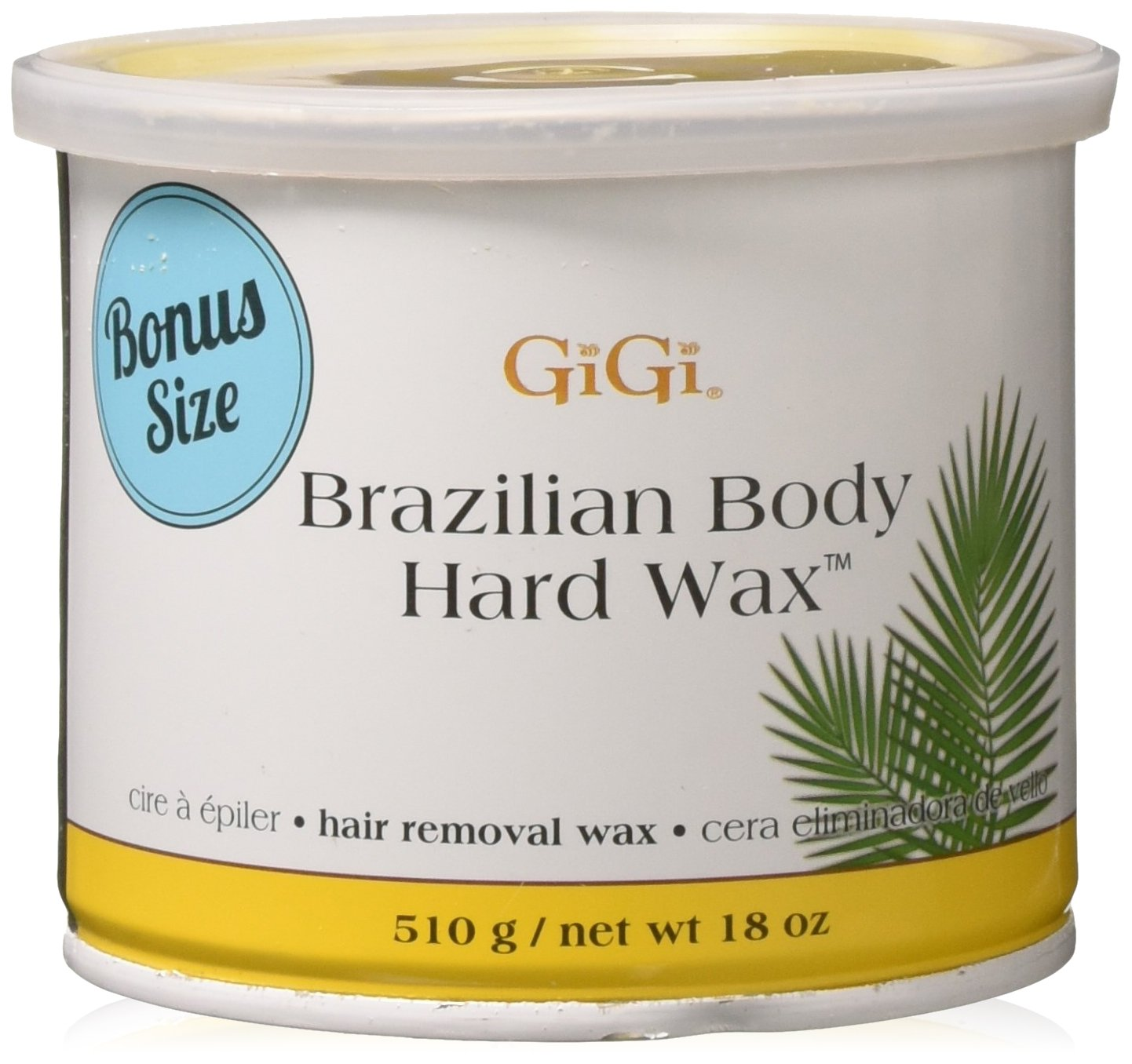 GiGi Brazilian Body Hard Wax 18 ounce