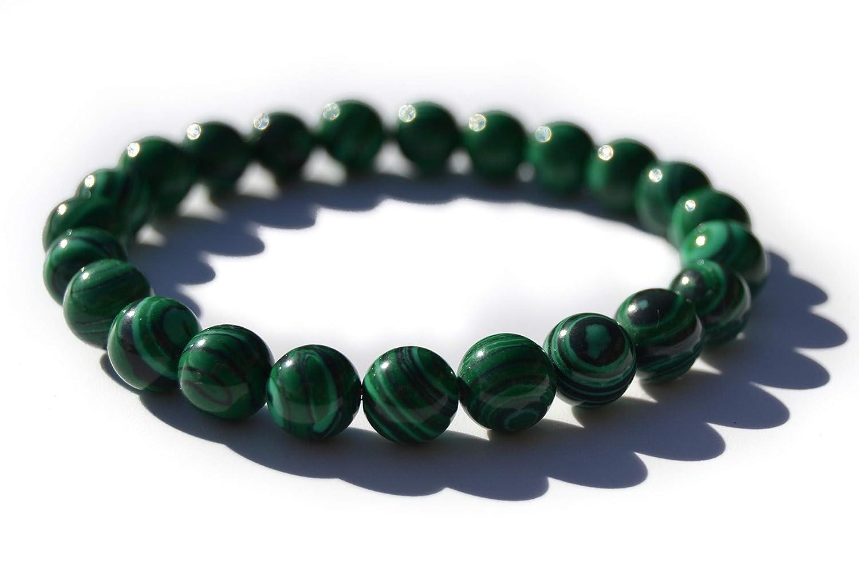 Herren Armband Shamballa Bracelet Türkis Malachit Geschenk für Mann