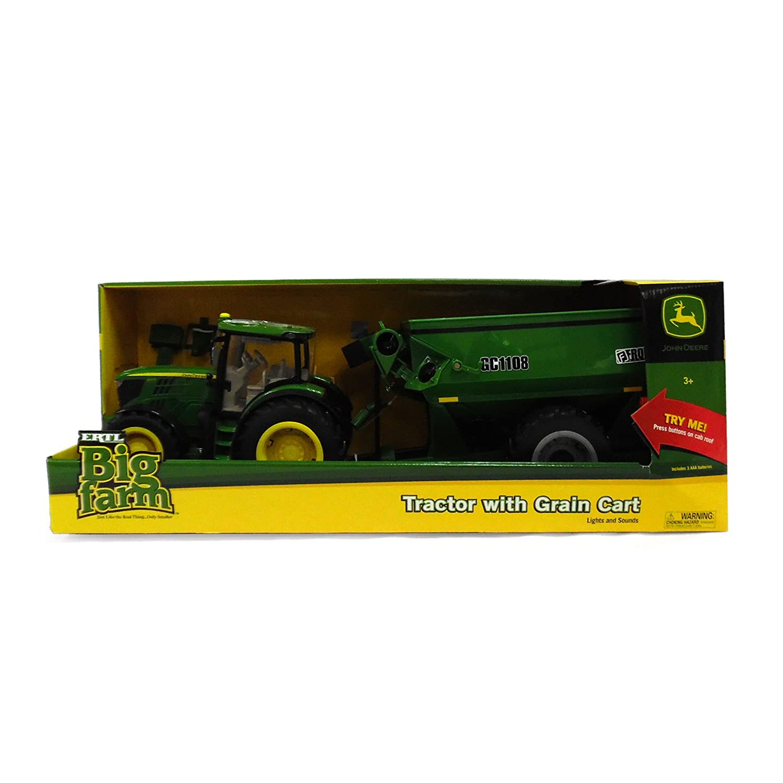 ERTL Big Farm 6210R Tractor with Grain Cart
