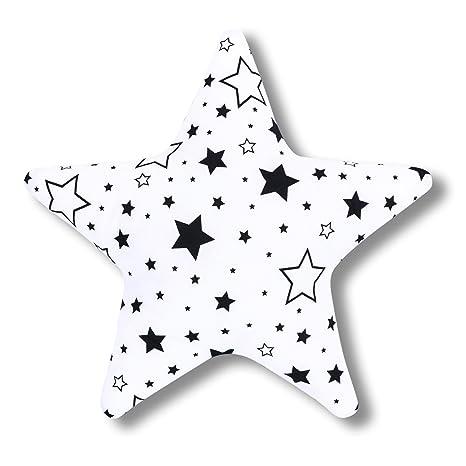 AMI Lian® Cojín Estrella Buena Noche Negro - Cojín (tejido ...