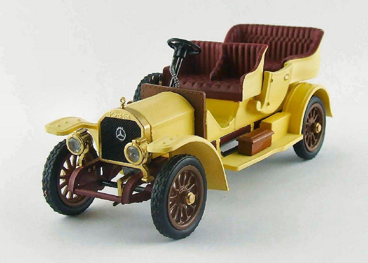 Sin impuestos Rio RI4392 Mercedes TOURISME 1909 Yellow 1:43 MODELLINO Die Die Die Cast Model  ventas en linea