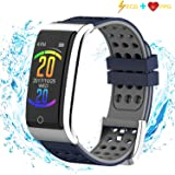 ISWIM Fitness Tracker, ECG&PPG Heart Rate Monitor Watch Color Screen, IP67 Waterproof, Step Counter, Calorie Counter, Sleep Monitor, Pedometer, Smart Watch Kids Women Men