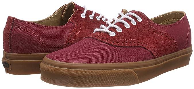 Vans U Spectator Decon ca, Sneaker Unisex - Adulto, Bordeaux, EU 34.5 (US 3.5)
