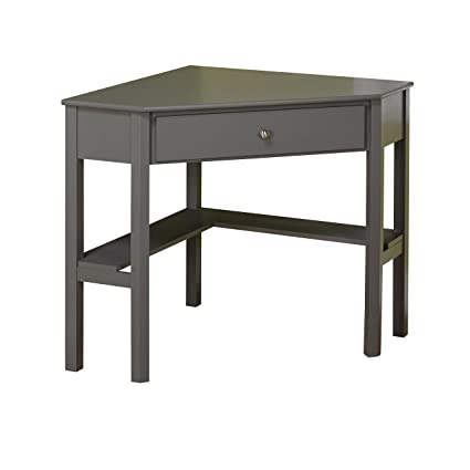 Gentil Target Marketing Systems Ellen Corner Desk With One Drawer And One Storage  Shelf