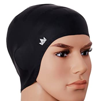 The Friendly Swede Silicone Long Hair Swim Caps