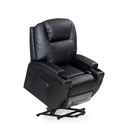 FRIVITY Power Lift Recliner Chair Bonded Leather Traditional Living Room Sofa Chair with Padded Arms  sc 1 st  Amazon.com & Amazon.com: FRIVITY Power Lift Recliner Chair Bonded Leather ... islam-shia.org