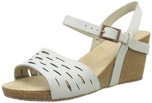 5c3c95b5cb043 TBS Riffah, Sandales femme, Blanc, 40 EU  Amazon.fr  Chaussures et Sacs