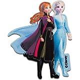 Parches azul 8,8x3,9cm Disney Frozen El reino del hielo Anna cómico niños