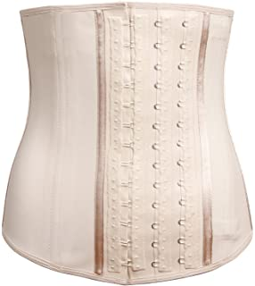LadySlim by NuvoFit Lady Slim Fajas Colombiana Latex Waist Cincher/Trainer/Trimmer/Corset